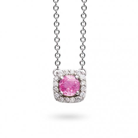 Collier Saphir diamant 0.11 ct One More Salina 047524XA