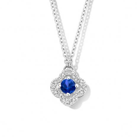 Collier Saphir diamant 0.11 ct One More Salina 062361SA
