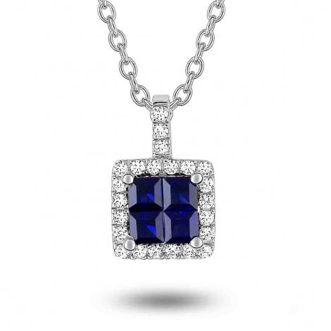 Collier Saphir et diamants ct - Fanny-3.6007.S1