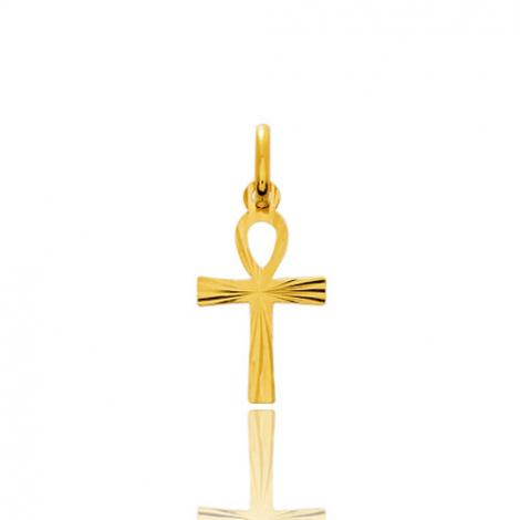 Croix de vie Or Jaune Maya