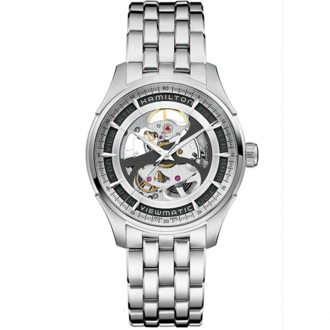 Hamilton Jazzmaster Viewmatic Skeleton 40 mm- H42555151