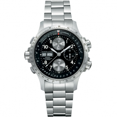 Hamilton Khaki Aviation X-Wind Auto Chrono 44 mm- H77616133