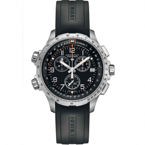Hamilton Khaki Aviation X-Wind GMT Chrono Quartz  46 mm- H77912335