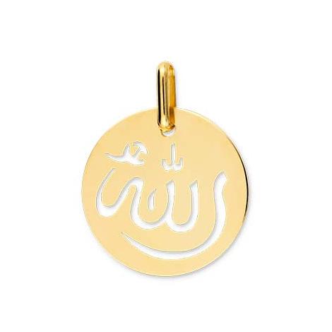 Médaille Allah Or Blanc Kenza - XM1054