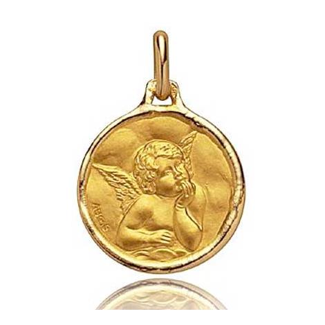 Médaille Ange Augis Or Jaune 16 mm Elsa 3600019800