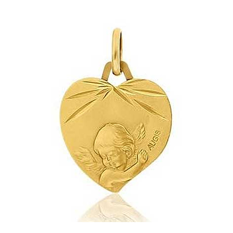 Médaille Ange Augis Or Jaune 16 mm Fiona 3600023800