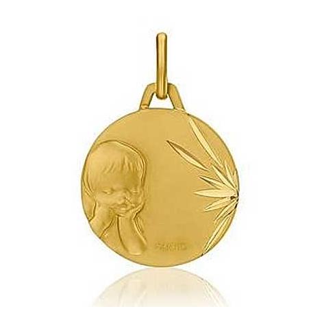 Médaille Ange Chérubin Augis Or Jaune 16 mm Oxanna 3600026900