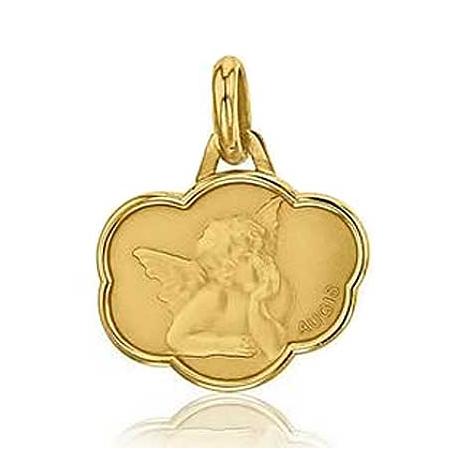 Médaille Ange de Raphaël Augis Or Jaune  Anchali J5033X0000