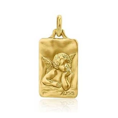 Médaille Ange de Raphaël Augis Or Jaune  Emmanuelle 3600021800