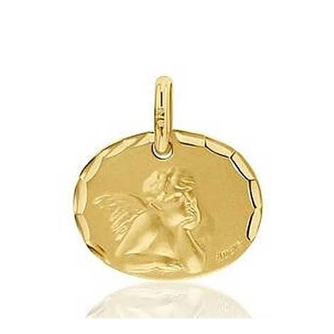 Médaille Ange de Raphaël Augis Or Jaune  Isabella 3630000700