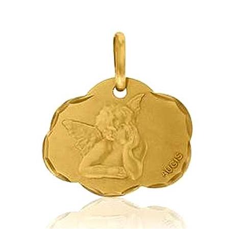 Médaille Ange de Raphaël Augis Or Jaune  Isis 3600036900