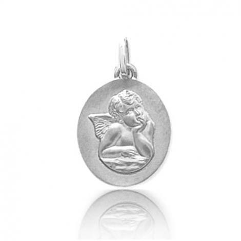 Médaille ange Or Blanc  Kiera - 9K20571G