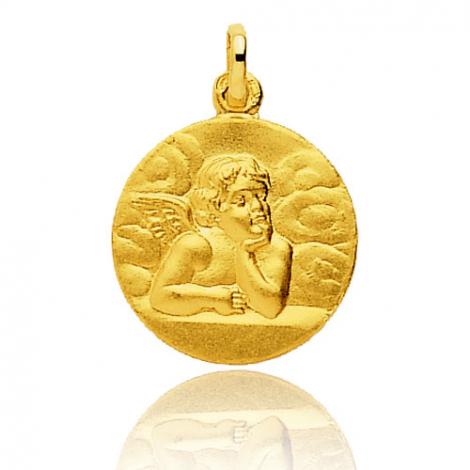 Médaille Ange Or Jaune 17 mm Envoutante - 660014