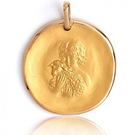 Médaille Ange Or Jaune 24 mm Célia - XR1332