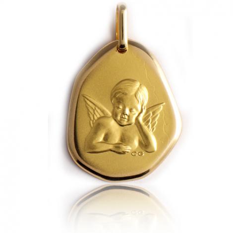 Médaille Ange Or Jaune  Élara - XR1414