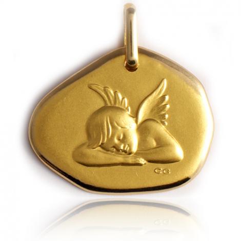 Médaille Ange Or Jaune  Éléannor - XR1418