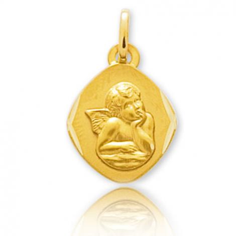Médaille Ange Or Jaune  Ambellina - 660011