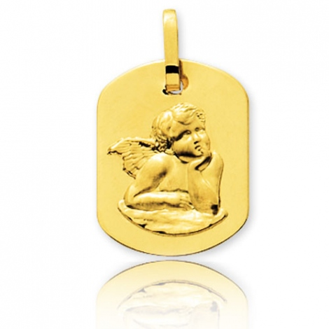 Médaille Ange Or Jaune  Anaève - 20385