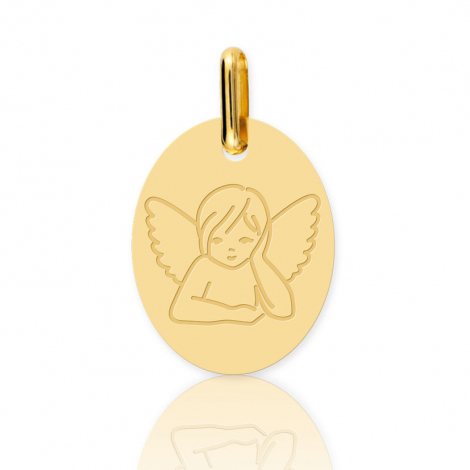 Médaille ange Or Jaune  Anchali - XR1522