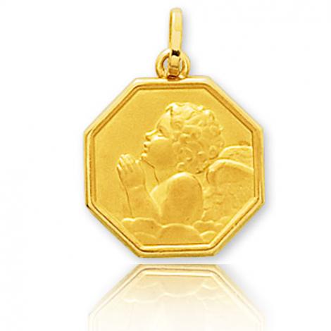 Médaille ange Or Jaune  Angélina - 660085
