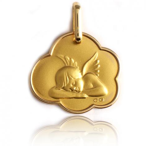 Médaille Ange Or Jaune  Constance - XR1389