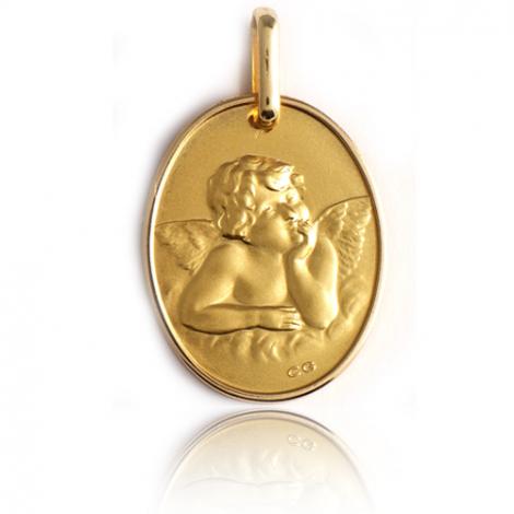 Médaille Ange Or Jaune  Délia - XR1453