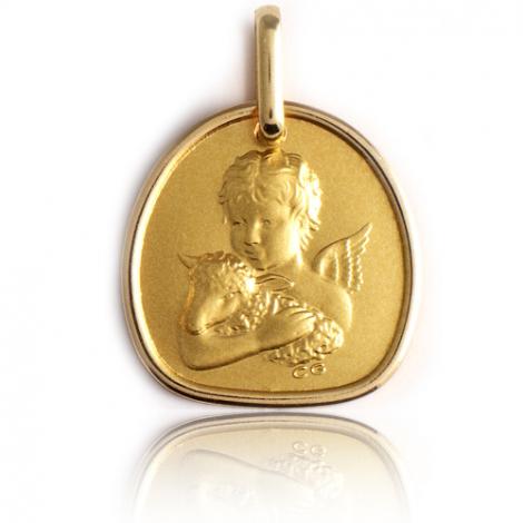 Médaille Ange Or Jaune  Delphine - XR1436