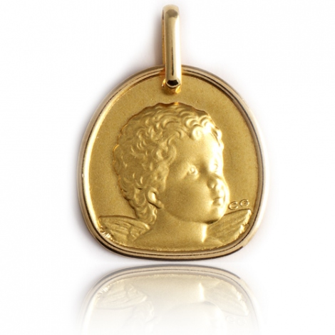 Médaille Ange Or Jaune  Diana - XR1435
