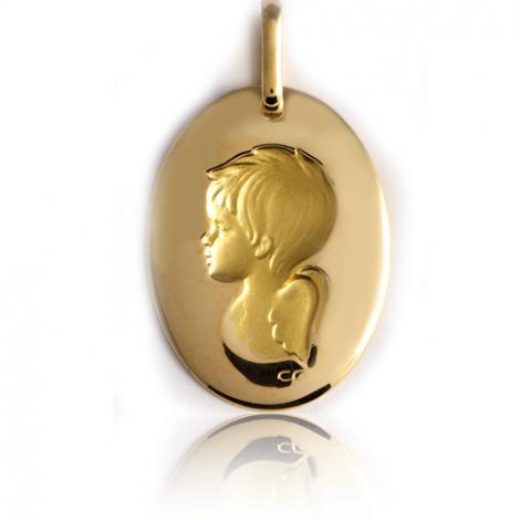 Médaille Ange Or Jaune  Eleonora - XR1395