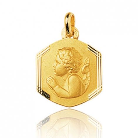 Médaille Ange Or Jaune  Rolianne - 32616