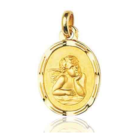 Médaille Ange Or Jaune  Solèna - 36916