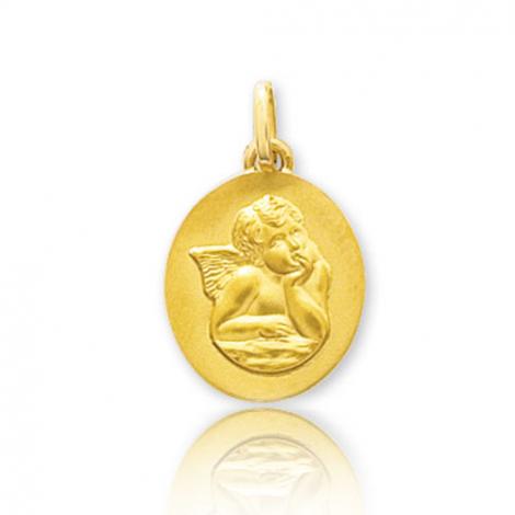 Médaille Ange ovale Or Jaune  Alexane - 660001