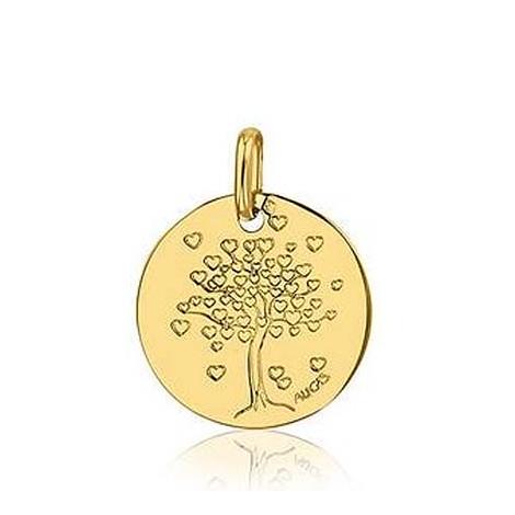 Médaille Arbre de Vie  Augis en  Or Jaune  14 mm  Agata -  J5154X0000