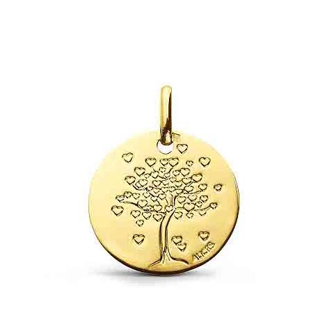 Médaille Arbre de Vie  Augis en  Or Jaune  16 mm  Auxane -  J5195X0000