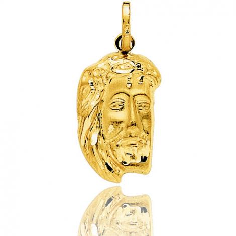Médaille Christ en Or Jaune 2.1 g - Alba