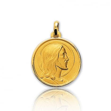 Médaille Christ en Or Jaune 3.8 g - Lucia