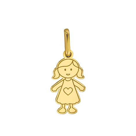 Médaille Fille