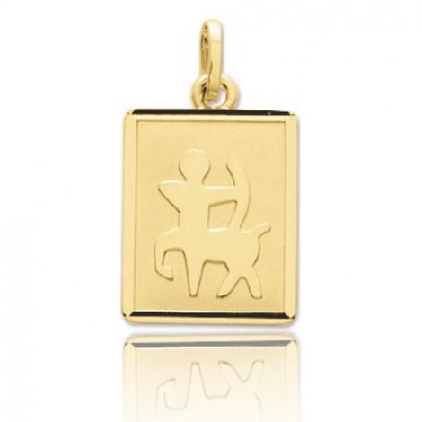 Médaille Pendentif Sagittaire Or Jaune Orianna