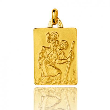 Médaille Saint Christophe Or Jaune 2.3g Thalicia - 9K26017