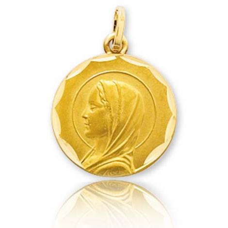 Médaille vierge  Or Jaune 15 mm Tallulah -20545