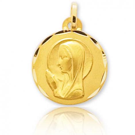 Médaille vierge  Or Jaune 16 mm Kimberley