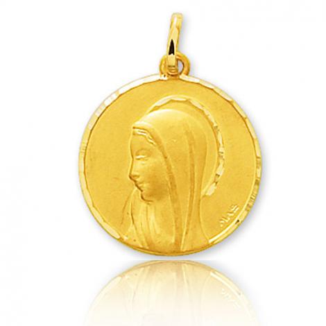 Médaille vierge  Or Jaune 17 mm Alexane -660081