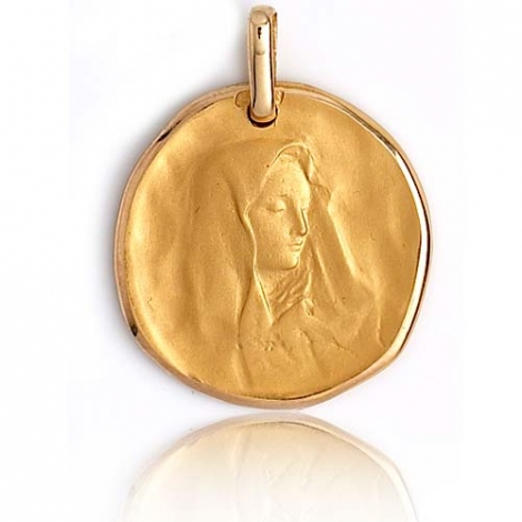 Médaille vierge  Or Jaune 20 mm Allissa -XR1330