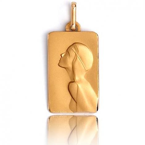 Médaille vierge  Or Jaune  Juliana