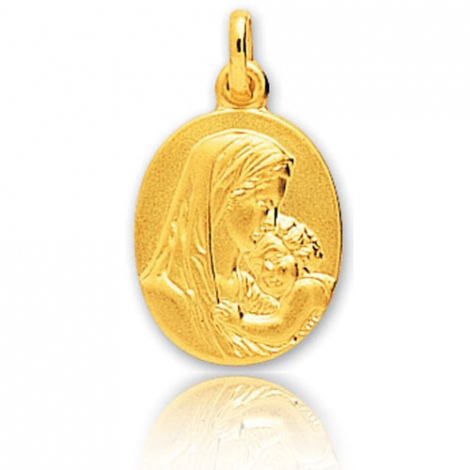 Médaille vierge  Or Jaune  Karine -20321
