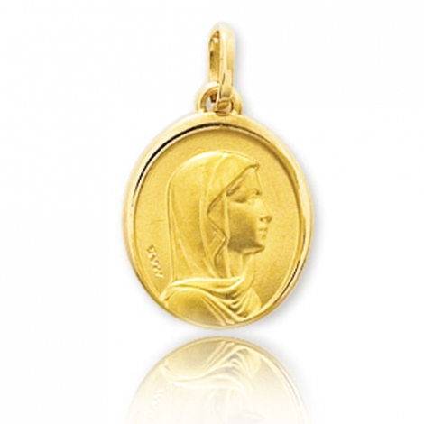 Médaille vierge  Or Jaune  Kiana