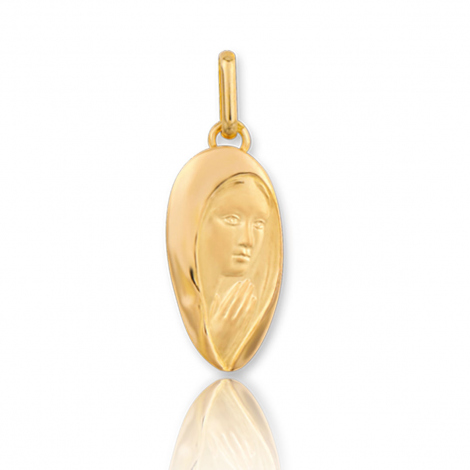 Médaille vierge  Or Jaune  Klara