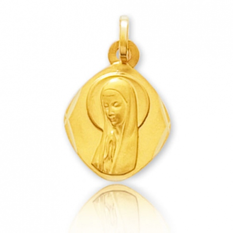 Médaille vierge  Or Jaune  Lisa