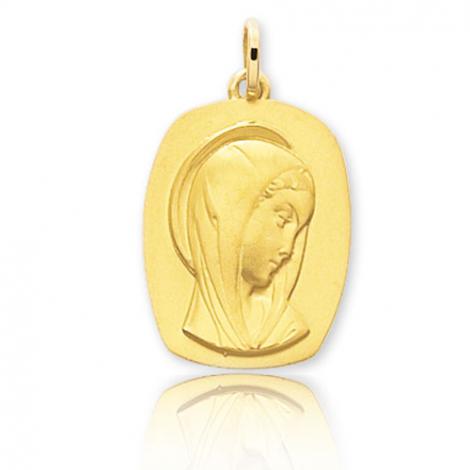 Médaille vierge  Or Jaune  Maëlle -20561