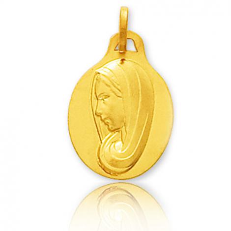 Médaille vierge  Or Jaune  Marine